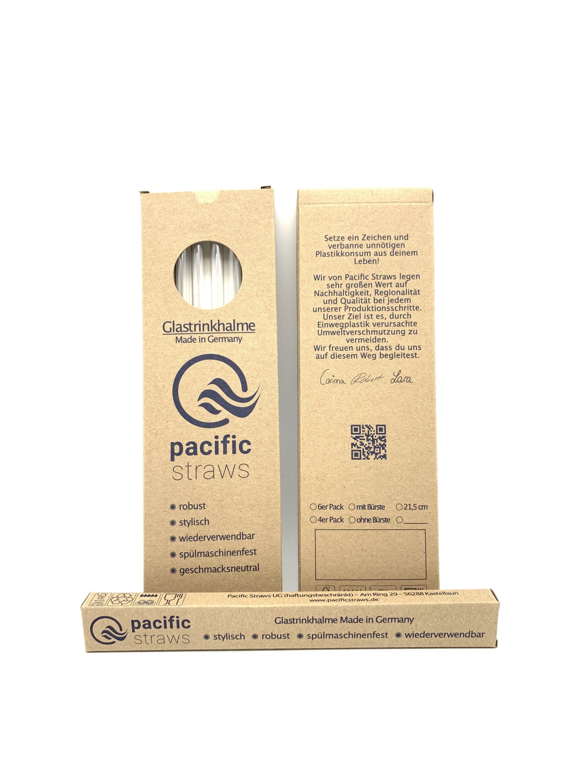 2er + 4er Pacific Straws
